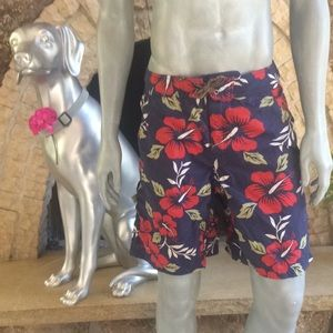 Patagonia Floral Board Shorts with pocket
